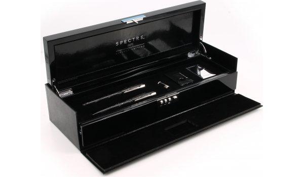 S.T. Dupont 007 Spectre Lighter & 2 Pens Set Collector's Box