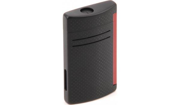 S.T. Dupont Maxijet lighter Black Matt & Red Punched Effect