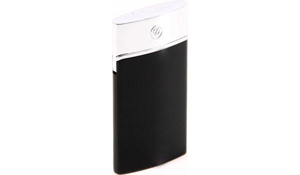 S.T. Dupont E-Slim Lighter Black Lacquer & Chrome