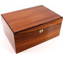 Savoy by Ashton Humidor Zebra Wood Large Basic Edition