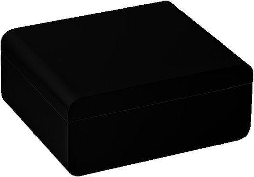adorini Carrara M - Deluxe Humidor Black