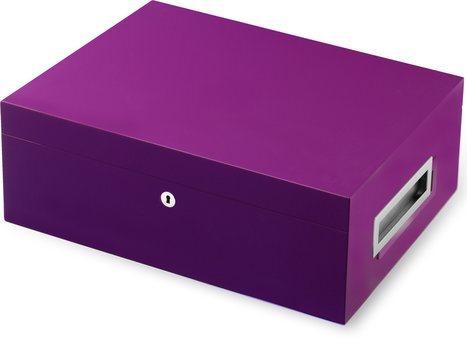 VillaSpa Humidor Purple