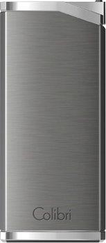 Colibri Delta Lighter Gunmetal Grey/Chrome