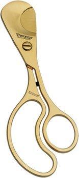 Donatus Big Cut cigar scissor gold-plated